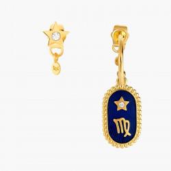 Boucles D'oreilles Creoles Boucle D'oreille Signe Astrologique Vierge80,00€ ANCS106T/1Les Néréides