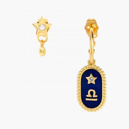 Boucles D'oreilles Creoles Boucle D'oreille Signe Astrologique Balance80,00€ ANCS107T/1Les Néréides