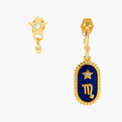 Boucles D'oreilles Creoles Boucle D'oreille Signe Astrologique Scorpion80,00€ ANCS108T/1Les Néréides