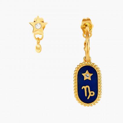 Boucles D'oreilles Creoles Boucle D'oreille Signe Astrologique Capricorne80,00€ ANCS110T/1Les Néréides