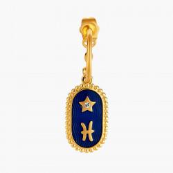 Boucles D'oreilles Creoles Boucle D'oreille Signe Astrologique Poisson80,00€ ANCS112T/1Les Néréides