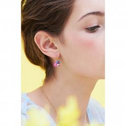 Boucles D'oreilles Dormeuses Boucles D'oreilles Dormeuses Pétale De Cristal Taillé Fleurs Et Coccinelles120,00€ ANBM104D/1Le...