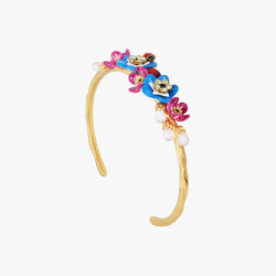 Bracelets Jonc Bracelet Jonc Fleurs De Myosotys Boutons De Rose Et Coccinelle170,00€ ANBM201/1Les Néréides
