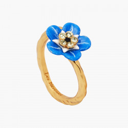 Forget-me-not Adjustable Ring