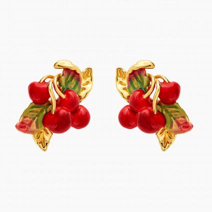 Boucles D'oreilles Tiges Boucles D'oreilles Tiges Cerises Et Feuilles110,00€ ANCE103T/1Les Néréides