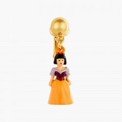 Snow White Clip-on Earrings