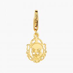 Sienna square stone earrings