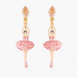 Boucles D'oreilles Clip Boucles D'oreilles Clip Ballerine Fleurs De Cerisier95,00€ ANDD115C/1Les Néréides