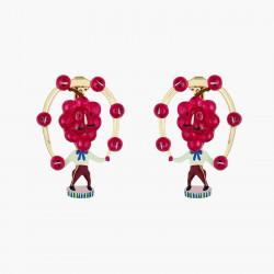 Boucles D'oreilles Originales Boucles D'oreilles Clips Raisin Fruit Circus75,00€ ANFC105C/1N2 by Les Néréides