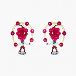 Sienna round stones luxurious necklace