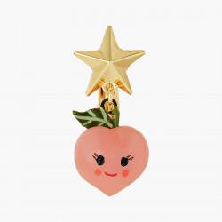 Boucles D'oreilles Originales Boucles D'oreilles Clips Pêches Et Etoiles Fruit Circus50,00€ ANFC108C/1N2 by Les Néréides