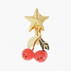 Boucles D'oreilles Originales Boucles D'oreilles Clips Cerises Et Etoiles Fruit Circus50,00€ ANFC109C/1N2 by Les Néréides