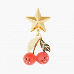 Boucles D'oreilles Originales Boucles D'oreilles Tiges Cerises Et Etoiles Fruit Circus50,00€ ANFC109T/1N2 by Les Néréides