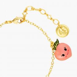 Bracelets Originaux Bracelet poire, raisin, citron et pêche fruit circus65,00€ ANFC201/1N2 by Les Néréides