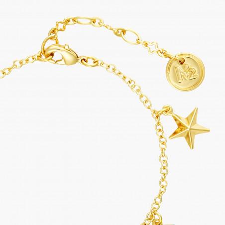 Bracelet luxe un rang vert sapin