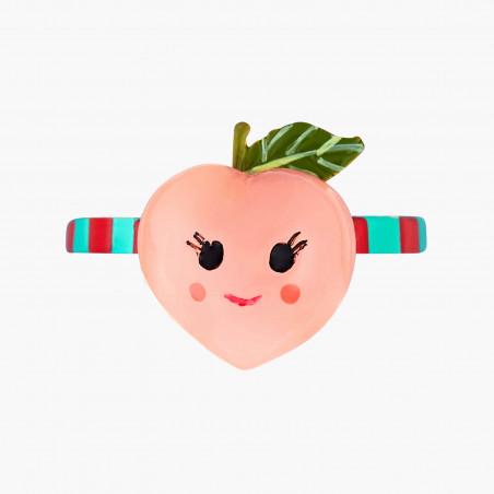 Boucles d'oreilles mini ballerine en tutu rouge