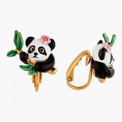 Boucles D'oreilles Clip Boucles D'oreilles Clip Panda Et Fleurs120,00€ ANFL101C/1Les Néréides