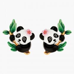 Pendientes Bolitas Panda Y...