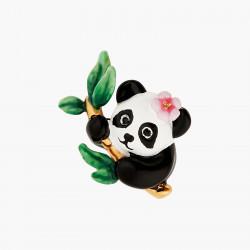 Boucles D'oreilles Tiges Boucles D'oreilles Tiges Panda Et Fleurs120,00€ ANFL101T/1Les Néréides