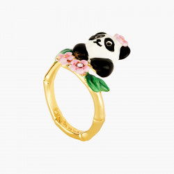 Panda And Flowers...