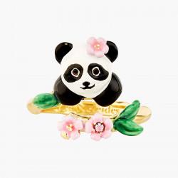 Bagues Ajustables Bague Ajustable Panda Et Fleurs130,00€ ANFL601/1Les Néréides