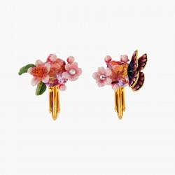 Boucles D'oreilles Clip Boucles D'oreilles Clips Fleur De Cerisier Et Papillon Du Japon120,00€ ANHA101C/1Les Néréides