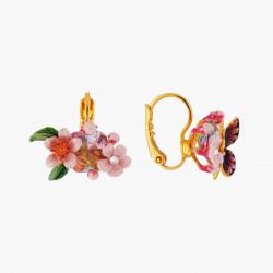 Boucles D'oreilles Dormeuses Boucles D'oreilles Dormeuses Fleur De Cerisier Et Papillon Du Japon120,00€ ANHA101D/1Les Néréides