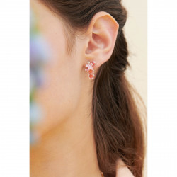 Boucles D'oreilles Clip Boucles D'oreilles Clip Fleur Rose De Cerisier Du Japon110,00€ ANHA103C/1Les Néréides