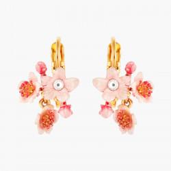 Boucles D'oreilles Dormeuses Boucles D'oreilles Dormeuses Fleur Rose De Cerisier Du Japon110,00€ ANHA103D/1Les Néréides