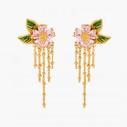 Boucles D'oreilles Clip Boucle D'oreille Clip Pétales De Fleur Et Feuillage120,00€ ANHA108C/1Les Néréides