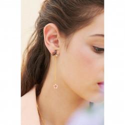 Boucles D'oreilles Pendantes Boucles D'oreilles Pendantes Papillon Du Japon Et Sa Fleur De Cerisier110,00€ ANHA111T/1Les Nér...