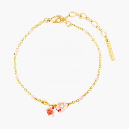 Bracelets Fins Bracelet Fin Fleurs Roses De Cerisier Du Japon80,00€ ANHA203/1Les Néréides