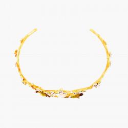 Bracelets Jonc Bracelet Jonc Fleurs Et Branches De Cerisier Et Zostérops Du Japon150,00€ ANHA204/1Les Néréides