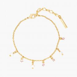 Cherry Blossom Thin Bracelet