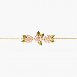 Bracelets Fins Bracelet Fin Pétales De Fleurs En Coeur Et Feuillage150,00€ ANHA206/1Les Néréides
