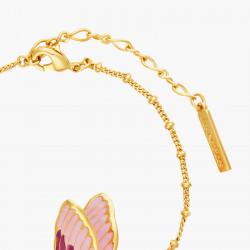 Bracelets Fins Bracelet Fin Pétales De Fleur En Cœur Et Papillon Terinos150,00€ ANHA207/1Les Néréides