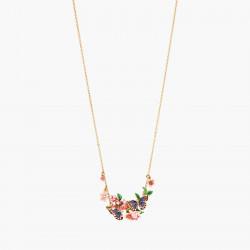 Colliers Plastrons Collier Plastron Double Papillon Du Japon Et Fleurs De Cerisier220,00€ ANHA301/1Les Néréides