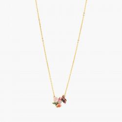 Colliers Plastrons Collier Papillon Du Japon Et Fleurs De Cerisier110,00€ ANHA302/1Les Néréides