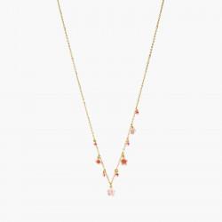 Colliers Pendentifs Collier Fin Fleurs Roses De Cerisier Du Japon160,00€ ANHA304/1Les Néréides
