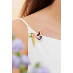Broches Broche De Pétales De Fleur En Cœur Et Papillon Terinos120,00€ ANHA501/1Les Néréides