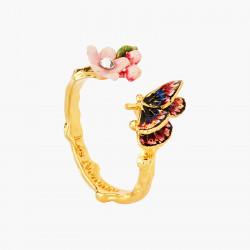 Bagues Ajustables Bague Ajustable Papillon Du Japon Et Fleur De Cerisier90,00€ ANHA601/1Les Néréides