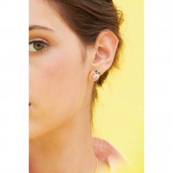 Boucles D'oreilles Clip Boucles d'oreilles clips saint honoré et sa petite cuillère90,00€ ANIP102C/1Les Néréides