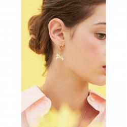 Boucles D'oreilles Pendantes Boucle D'oreille Tiges Carrousel Et Cheval De Manège130,00€ ANIP103T/1Les Néréides