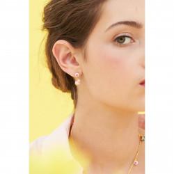 Boucles D'oreilles Pendantes Boucle D'oreille Tiges Tasse De Thé Et Religieuse110,00€ ANIP104T/1Les Néréides