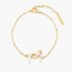 Carousel Horse Thin Bracelet