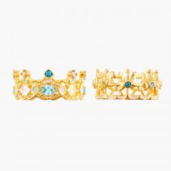 Bagues Multi-anneaux Bague 2 Anneaux Carrousel Et Manège De Chevaux140,00€ ANIP603/1Les Néréides