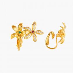 Boucles D'oreilles Clip Boucles d'oreilles asymétriques clips jasmin étoilé110,00€ ANJA101C/1Les Néréides