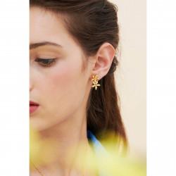 Boucles D'oreilles Dormeuses Boucles d'oreilles asymétriques dormeuses jasmin étoilé110,00€ ANJA101D/1Les Néréides