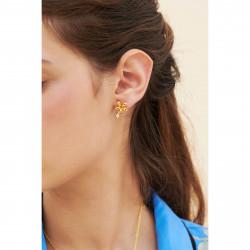 Boucles D'oreilles Dormeuses Boucles d'oreilles dormeuses jasmin étoilé et perle90,00€ ANJA102D/1Les Néréides