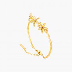 Star Jasmine Bangle Bracelet